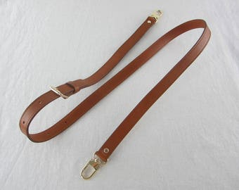 Brown Leather Purse Straps 1.9cm wide