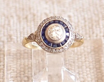 RESERVED for Tracy Shipping and Sizing Charges for Art Deco ring