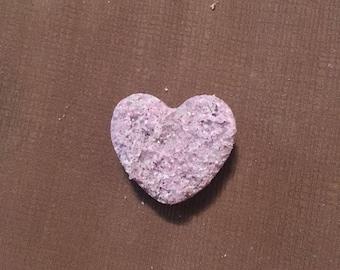 Mini lavender sparkle bath bomb