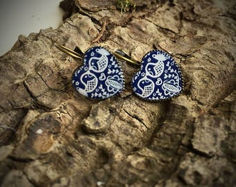 Folklor birds earrings