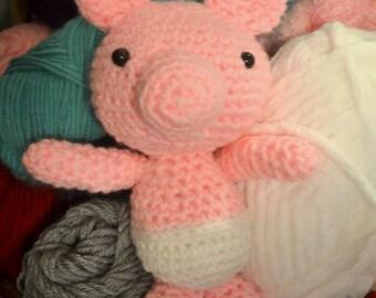 Amigurumi Crochet Piglet