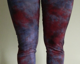 Tie Dye Leggings acid wash Yoga Pants yoga Leggings hand dyed Leggings customized festival punk personalised