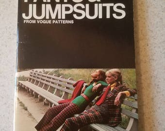 Pants and Jumpsuits sewing guide. Vogue patterns. Butterick