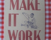 make it work letterpress postcard