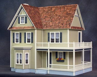 Victoria's Farmhouse Dollhouse Real Good Toys
