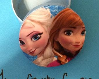 Frozen Anna & Elsa Trinket Box *CLEARENCE*