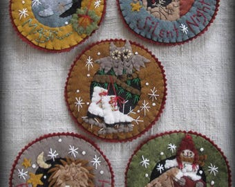 Inside A Snowflake Ornament KIT Winter's Tale Collection by cheswickcompany