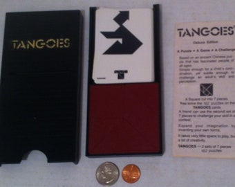 Vintage 1980s Game, Tangoes, A Puzzle Type Game, Fun