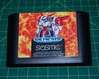 MUSHA M.U.S.H.A. Sega Genesis Repro!