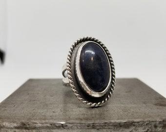 Sodalite in Sterling Silver
