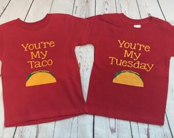 Taco Tuesday shirts
