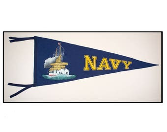 United States Navy pennant Circa 1920