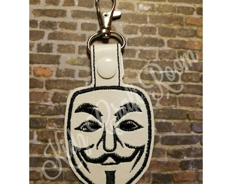 Anonymous key Chain Fob