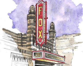 The Fox Theatre - Atlanta, Georgia