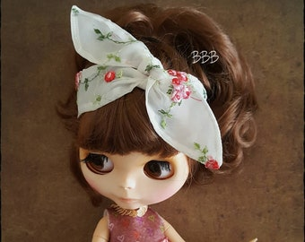 Set of 2 exclusive bandana's for blythe doll