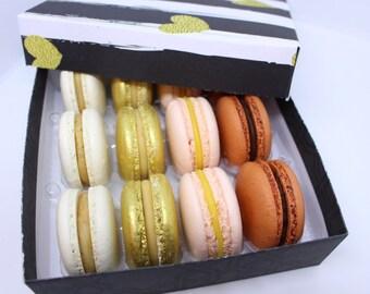 Box of 12 macarons