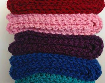 READY TO SHIP, Infinity Scarf, Handmade, Crochet