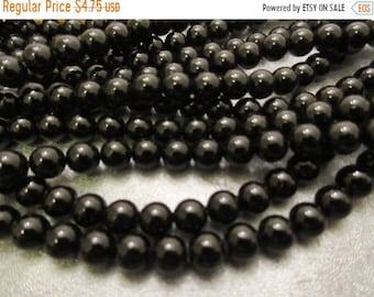 ON SALE 20% OFF Black Onyx Round 6mm Beads 65pcs