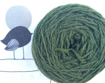 Rustic green Bronze - FLEECES BRETON wool