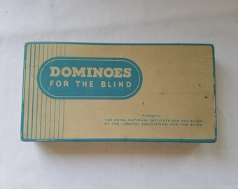 Dominoes for the Blind by the Royal National Institute for the Blind.