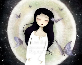 Fluttering Dreams - Deluxe Edition Print - Whimsical Art