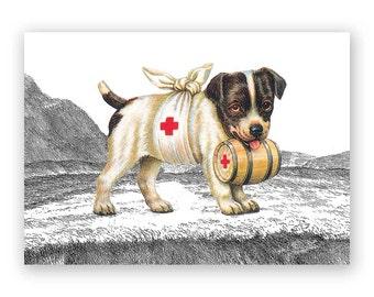 Puppy Get Well Card