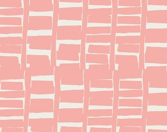 Quilt Fabric, Rush Hour Rose, Gramercy Fabric, Leah Duncan Fabric, Art Gallery Fabrics, Modern Fabric, Sewing Supplies, Pink Fabric,