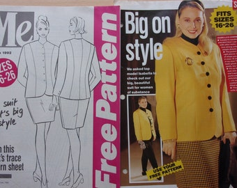 sewing patterns I free pattern 27 - suit for women