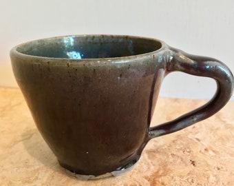 Wu Blue Brown Mug