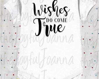 Wishes do Come True Onesie