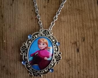 Frozen Anna Diamante Necklace