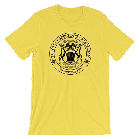 The Great Beer State Short-Sleeve Unisex T-Shirt