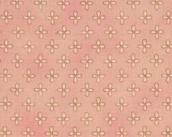 Moda Chez Moi Lulu Dainty Blush cotton fabric