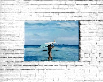 "Picture ""girl and surf"""