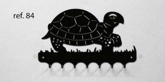 Key grip metal motif: Turtle