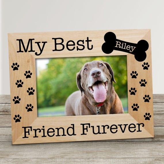 Mi mejor amigo personalizada Pet marco de fotos mascotas