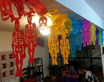 Skeleton Papel Picado