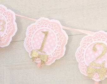 first birthday photo banner, first year photo banner, 1st birthday photo banner, party decorations, baby's first year, baby banner
