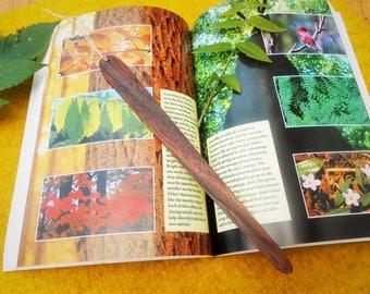 Wooden bookmark/Black Walnut bookmark/wood bookmark/wooden book mark/wood book mark/walnut wood book marker/black walnut bookmarker