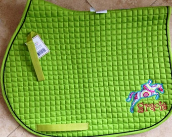 Custom Saddle Pad