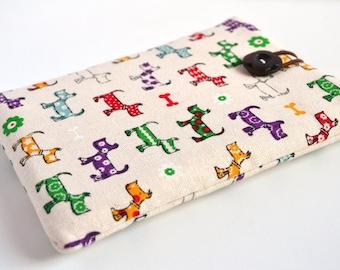 Colourful Westies Kindle Sleeve, Kindle Cover, Kindle Case