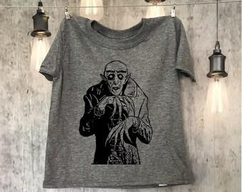 Nosferatu - vampire - horror - cult classic -adult - toddler - youth - classic monster