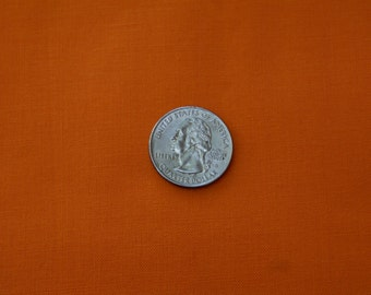"1 7/8 Yds x 44"" Wide Orange Cotton Fabric"