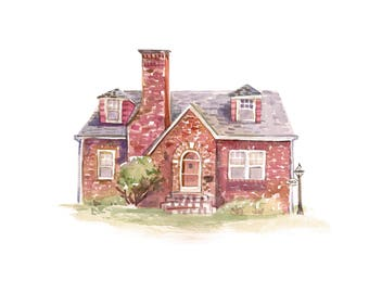 Custom Painting of Your Home in 8x10, 9x12, 11x14 or 20x30
