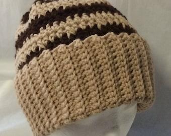 Crochet beanie for men, mens hat, crochet skullcap