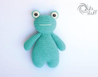 Frog amigurumi, crochet frog