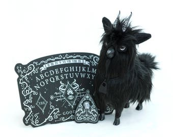 YETIS & FRIENDS X FIENDIES collaboration! Black Goat Familiar and Spirit Board bundle