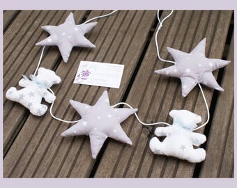 """Garland """"little bear in the stars"""""""