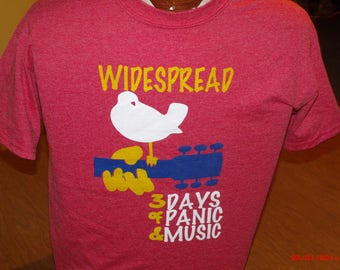 Widespread panic shirt. Widespread Panic New Years shirt. Widespread woodstock shirt. Panic 2018 new years shirt.