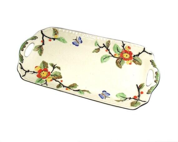 Vintage Phoenix Ware Tray in the Blossom Design